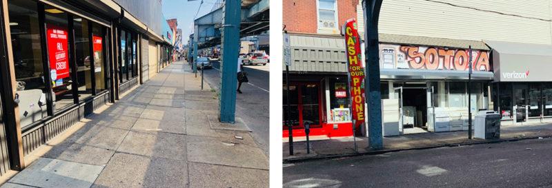 Kensington Avenue cleanup philadelphia
