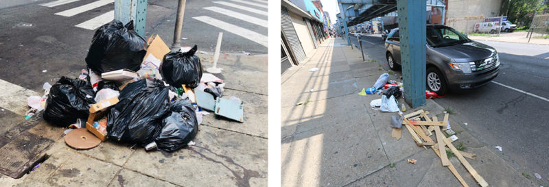 Kensington Avenue philadelphia cleanup