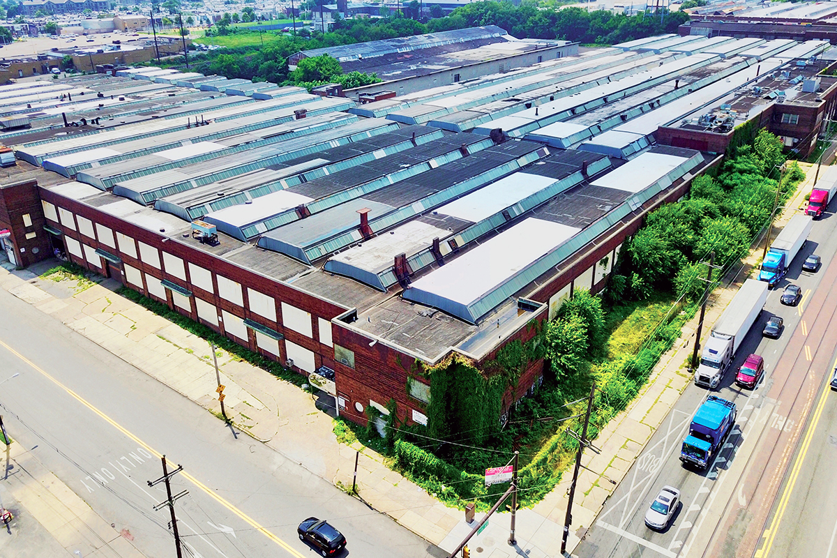 956 E Erie industrial warehouse Philadelphia