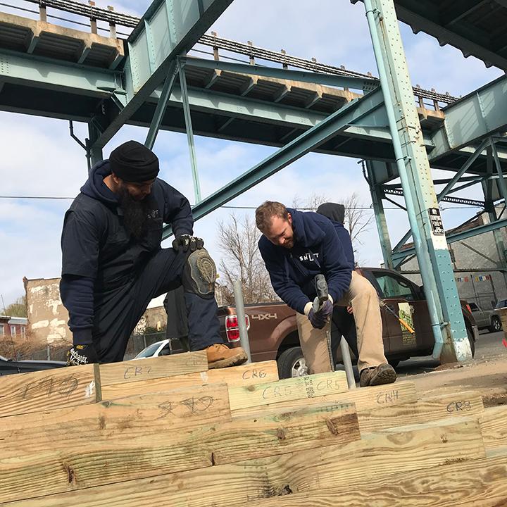 Tusculum Square park build community philadelphia kensington Shift